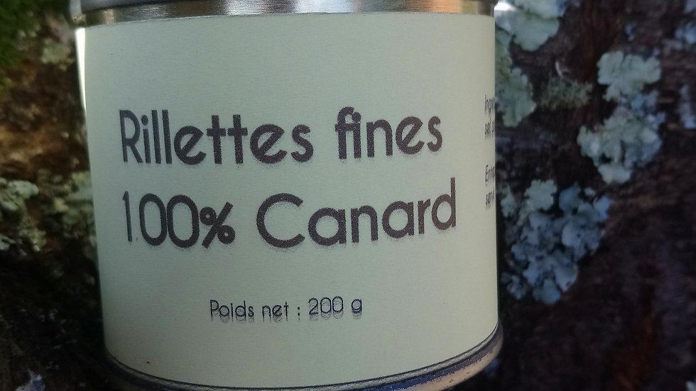 Rillettes fines de Canard
