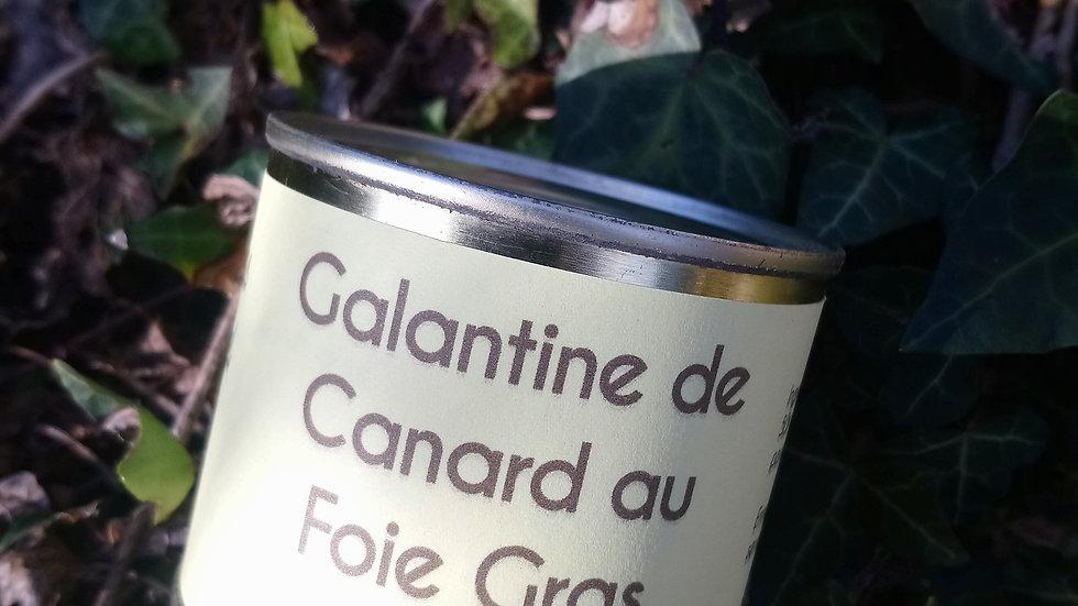 Galantine de Canard au Foie Gras, 200g