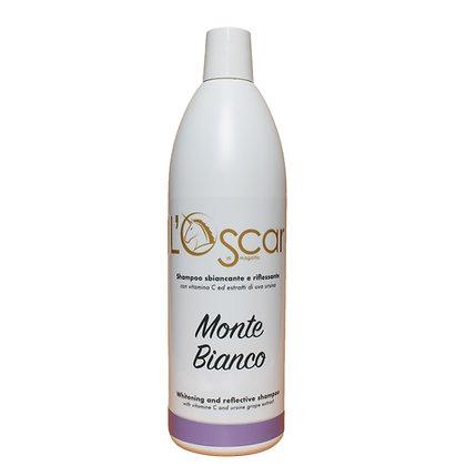 Monte Bianco - Shampoo Sbiancante - Cod: OS07 Flacone da 1000 ml