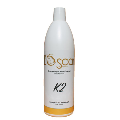 K2 - Shampoo Manti Ruvidi - Cod: OS18 Flacone da 1000 ml