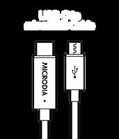 MICRODIA USB-C 2.0 USB-C to MicroUSB