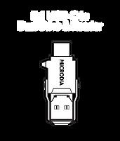 MICRODIA USB-C 3.1 USB-C to Dual Drive & Reader