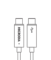 MICRODIA USB-C 2.0 USB-C to USB-C