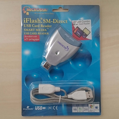 iFlash SM-Direct Smart Media USB Card Reader bundled with xD Adapter