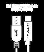 MICRODIA USB-C 3.1 Gen.2  USB-A to USB-C