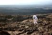Practicing for Mars walks, Hawaii