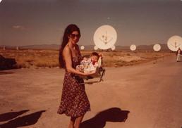 Mama D and me, at the VLA dedication