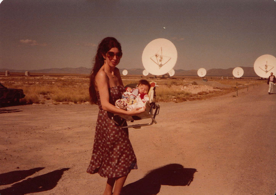 Mama D and me, at the VLA dedication