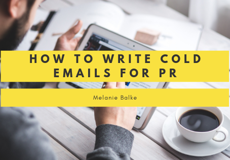 How To Write Cold Emails for PR