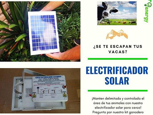 Electrificador solar ganadero