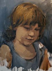 Vivienne, Oil on Panel, 11x14