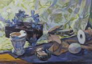 Still life, OIl on Canvas, 18 x 24