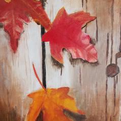 Acrylic on Canvas, Age 10