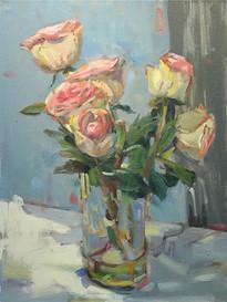 Floral, Oil on Cavas, 11x14