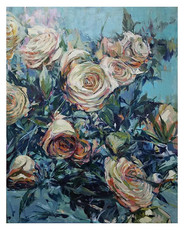 Roses 3, Oil on canvas, 30 x 40