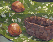 Onion, Oil on Canvas, 9x12