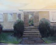Facade 3, Oil on Wood Panel, 24x30