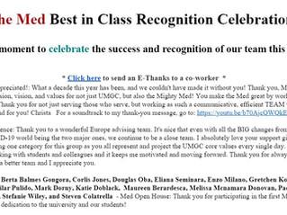 Congratulations Ms. Berta!