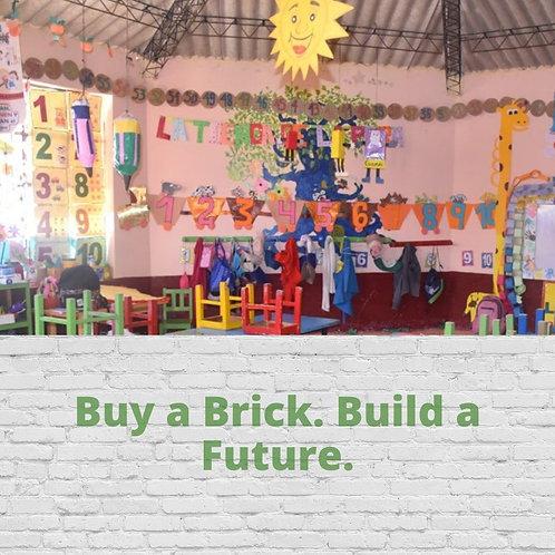 Buy a Brick. Build a Future.