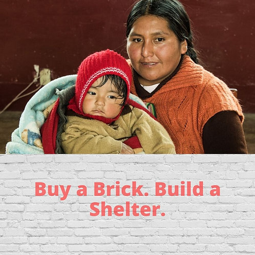 Buy A Brick. Build A Shelter.