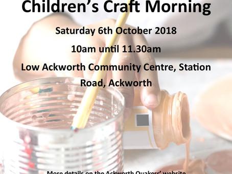 Children's Craft Morning