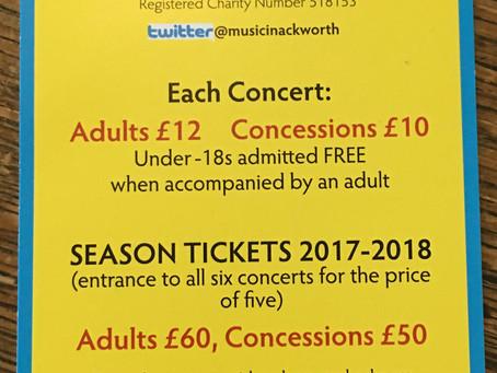 Ackworth Choral Society Flyer