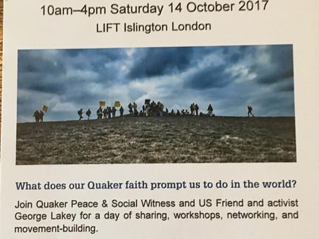 Quaker Event in London...