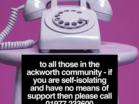 If you need help please call...