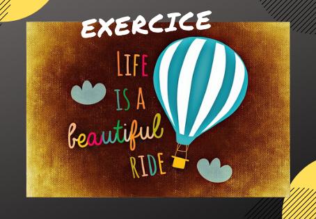 [EXERCICE] L'action positive du jour