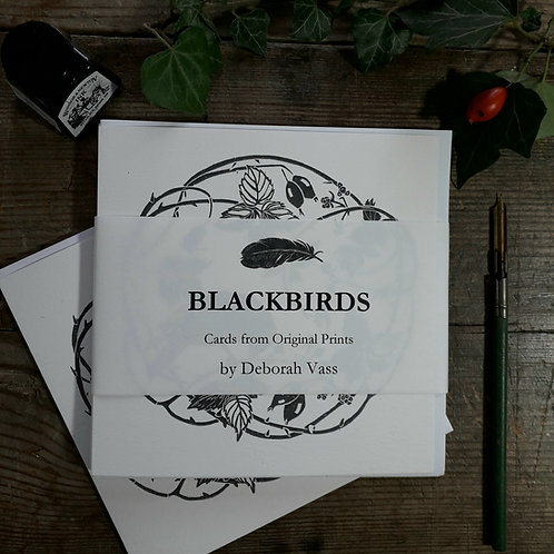 Blackbirds Card Collection