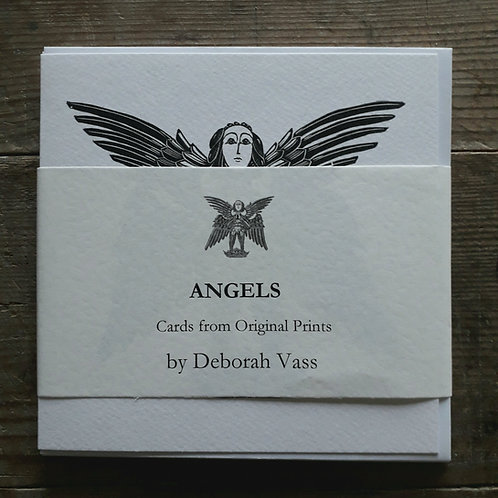 Angels 4 Card Collection