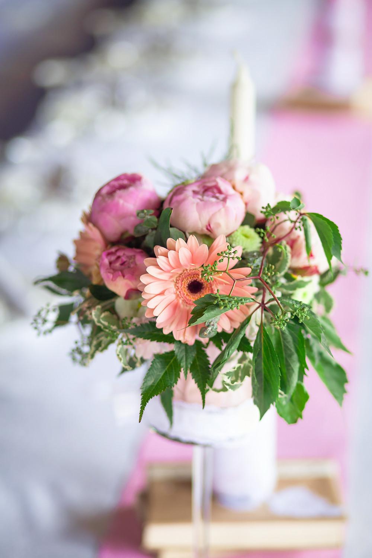 летняя свадьба с пионами рустик