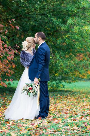 Каким должен быть осенний букет невесты