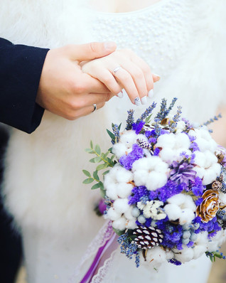 Каким должен быть зимний букет невесты