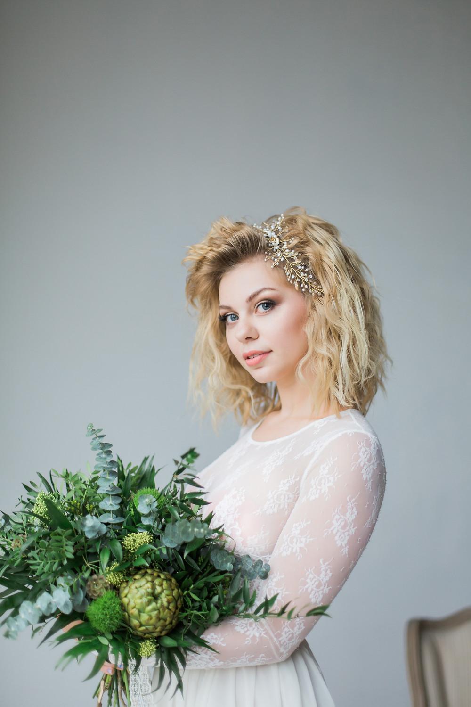 модный свадебный букет 2017