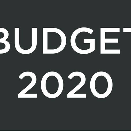 ASCS Review on Budget 2020