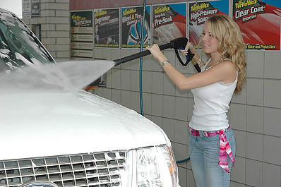 high pressure car wash