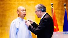 """Guogan is awarded """"Chevalier des Arts et des Lettres"""""""