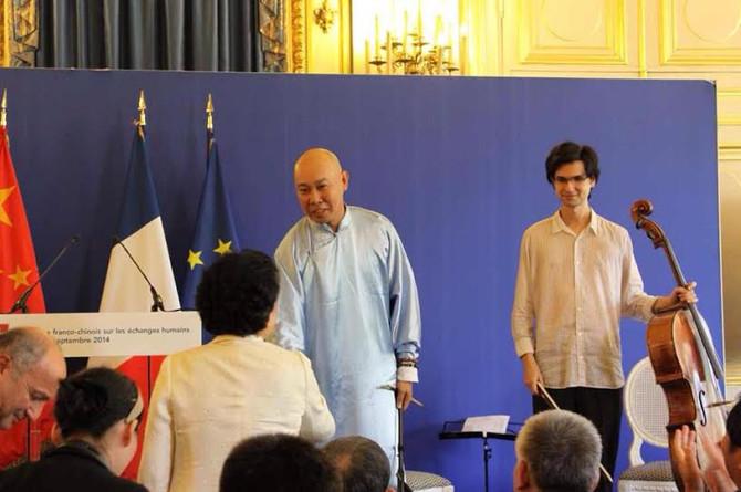 Ouverture en Musique pour La première session du dialogue franco-chinois de haut niveau sur les écha