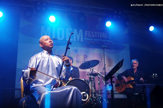 Guo Gan Jazz Band in Cannes 2015 Midem