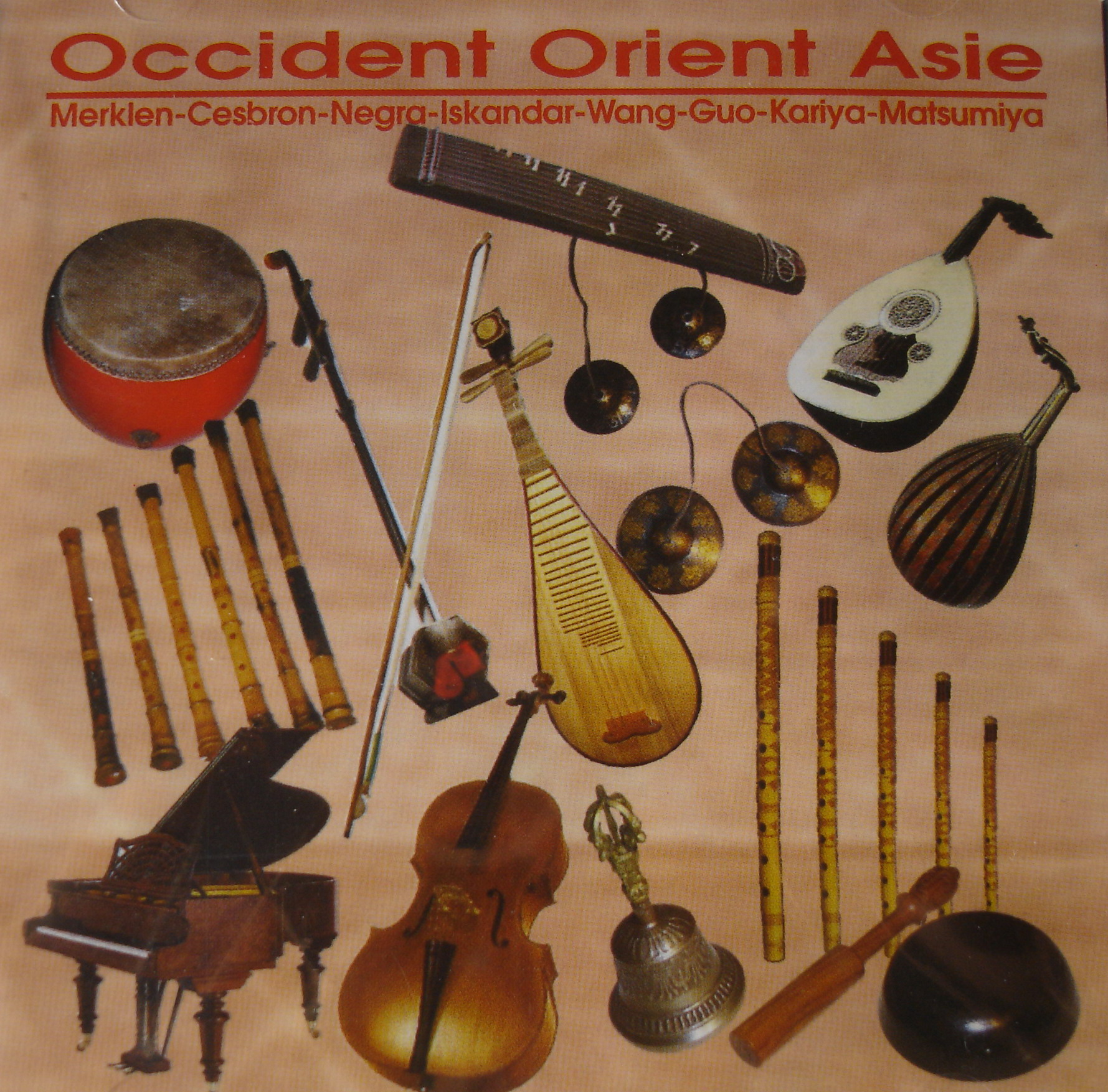 Occident Orient Asie