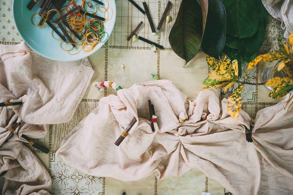 ย้อมผ้าธรรมชาติ, เวิคชอป, tie dye, natural, organic,