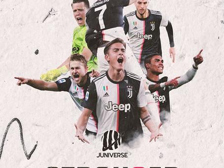 Juventus, 2-0 alla Sampdoria: Cristiano Ronaldo e Bernardeschi suonano la nona sinfonia