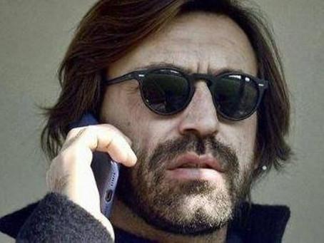 Telefonata con Andrea Pirlo.