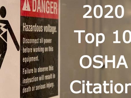 2020's Top 10 OSHA Citations