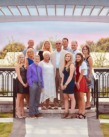 Large Outdoor Family Photo Blue Angeliqu