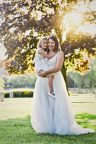 Mother-Daughter-Wedding-Sunset-Waukesha-