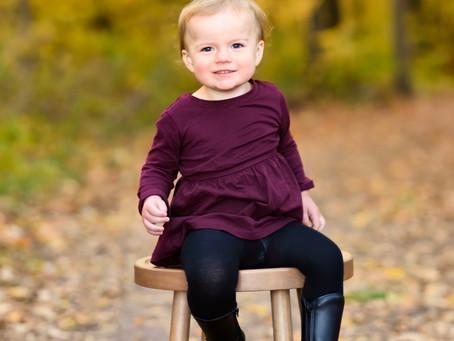 Autumn - Fall Colors - Family Photography - Minooka Park - Waukesha - Wisconsin - Baby
