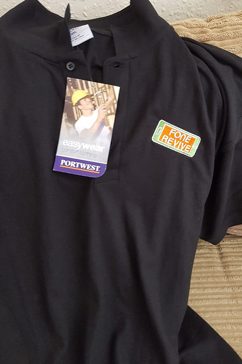 Polo Shirts (Orange or Black)
