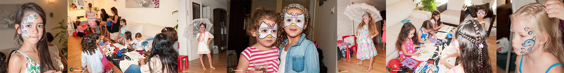 ציורי פנים לילדים
